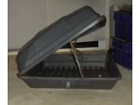 Halfords car roof box bargain as need space £20