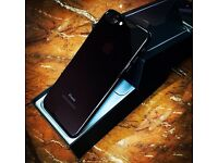 iPhone 7 plus, jet black, 128gb
