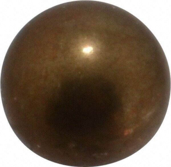 Value Collection 3/8 Inch Diameter Brass Ball 0.0002 Inch Sphericity, Grade 2...