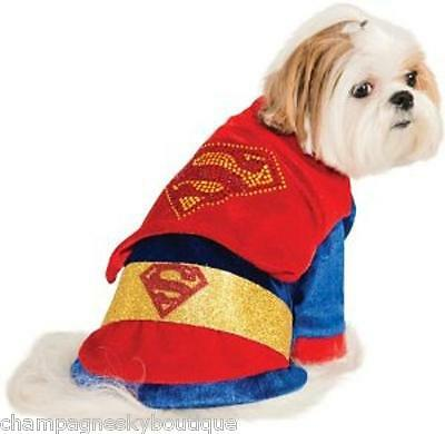 NWT Size Extra Small  * SUPERMAN*  Dog Halloween Costume XS X-Small