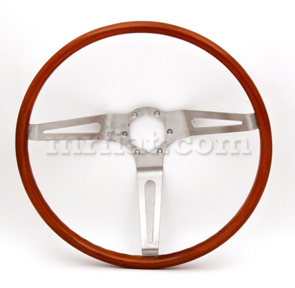 Corvette C2 1963-67 Teak Wood  Steering Wheel 380 Mm New