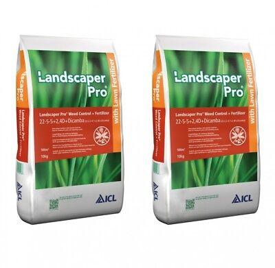 (3,65€/1kg) ICL Landscaper Pro Weed - Unkrautvernichter+Rasendünger 20kg ()