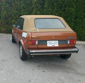 1981 Volkswagen Rabbit Convertible