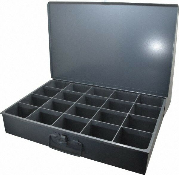 Durham 20 Compartment Small Steel Storage Drawer 18 Inches Wide x 12 Inches Deep
