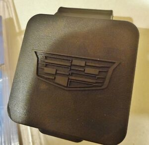 Cadillac ESCALADE TRAILER TOW HITCH COVER W/ NEW STYLE CREST!!