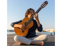 Online (Zoom) Guitar Lessons for adults/young adults