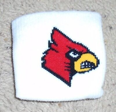 Louisville Cardinals Football Game used Cardinal Wrist Bands Red White or Black