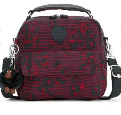 Kipling Candy Stripy floral Convertible backpack Rrp£79