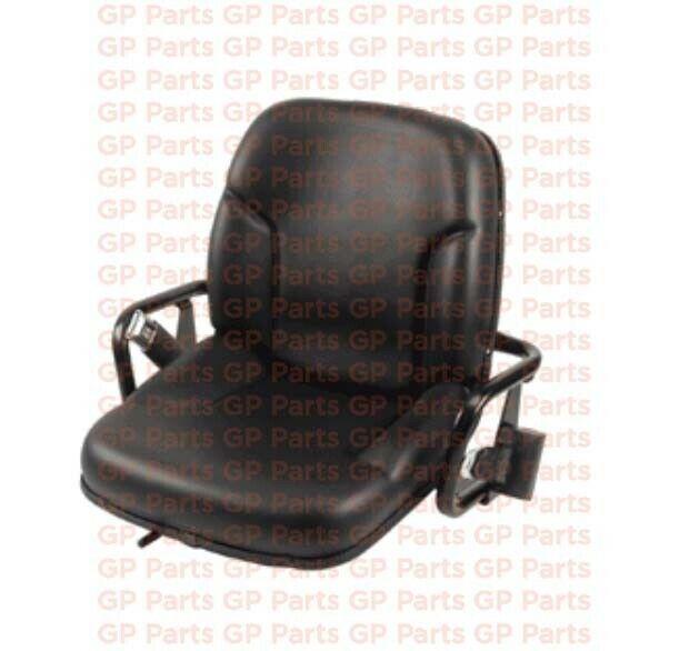 """Caterpillar 1029645,VINYL FORKLIFT SEAT (20.55""""H X 22.04""""W X 18.22""""D)"""