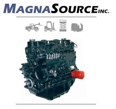 Mitsubishi S6s Forklift Engine - Diesel - Cat - 13 Month Warranty - Magna Source
