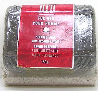 Giorgio Beverly Hills RED for Men Soap / Savon 150 g mit Pflegestein