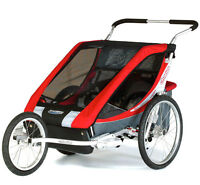 Chariot Cougar 2 with jogging kit