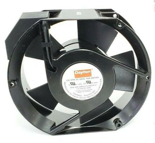 DAYTON 4WT42A 239 CFM AC AXIAL FAN RPM 3200 AMPS 0.23 WATTS 27, 115V 60Hz