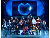2 X Marvel Universe Live. Nottingham Motorpoint. £55 ONO
