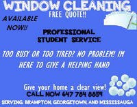 PUTTING YOUR HOUSE ON THE MARKET? GET YOUR WINDOWS CLEANED!