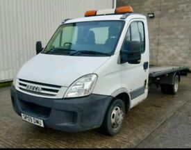 2009 Iveco Daily 35s14 LWB recovery truck 2 AXLE