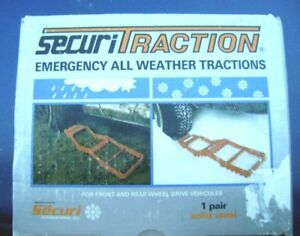 Brand New SECURITRACTION Emergency all weather Tractions