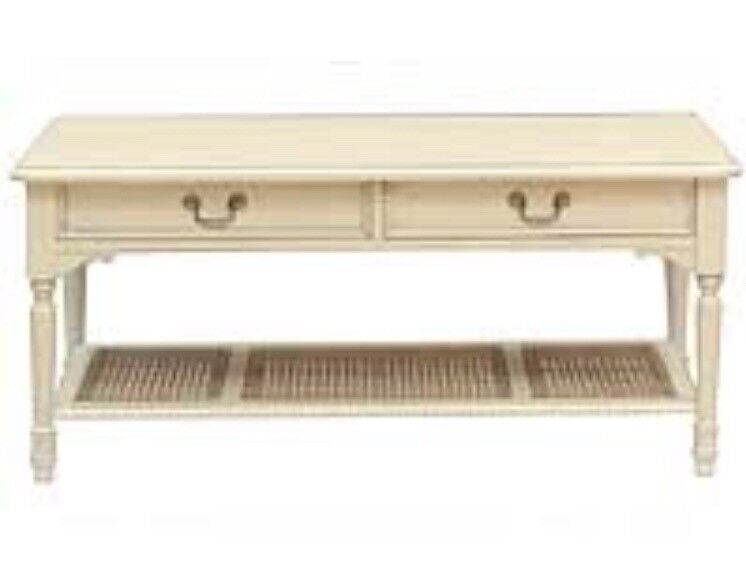 Coffee Table Laura Ashley Clifton Ivory French Style 2 Drawers In Hull East Yorkshire Gumtree