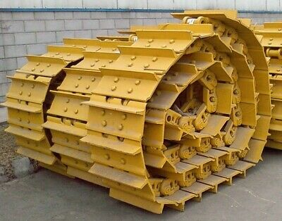 Komatsu D65ex-15 Track Groups Lubricated Chains W 24 Pads Shoes Both Sides