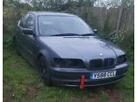 Breaking bmw e46 320 2.2 6 cylinder welded diff harness seat belt ect