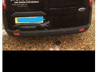 Transit custom rear bumper