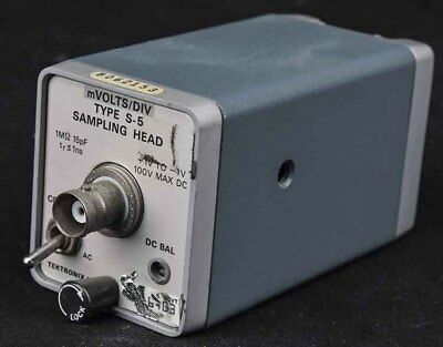 Tektronix S-5 S-series 1ns 350mhz 100vdc-max Sampling Head Plug-in Module