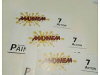 VIP Paintball tickets 3 booklets