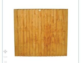 Featheredge fence panel 6ft x5ft. Brand new