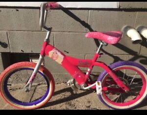 16 inch Barbie bike. In great condition