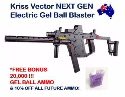 Kriss Vector Gel Ball Blaster BRAND NEW! Top Ten Boys Toy