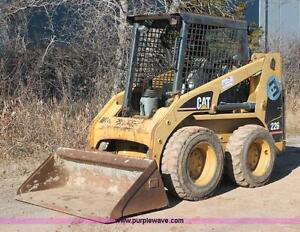 wanted repairable Cat skid steer