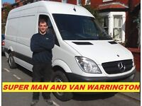 🚚 Man and Van Removals Courier Hire Warrington St Helens Leigh Northwich Widnes Ikea Delivery
