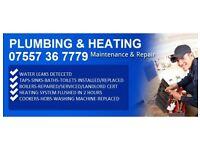 Local Plumbing & Heating - Boiler Breakdowns - Servicing - Installs - Water Leaks