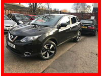 19500 Miles -- 2016 Nissan Qashqai 1.2 DIG-T N-Connecta --- Part Exchange Welcome --- Drives Good