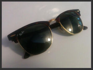 Ray Ban Clubmaster sunglasses RB3016 - mint condition