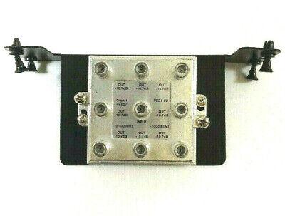 8 Video-splitter Modul (Cooper 8-Way F-Type Passive Video 1x8 Distribution Cable Splitter Module)