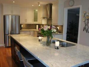 $2100 Granite or Quartz Counter top Special at RockWood Kitchens