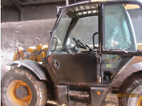 JCB window Replacement for glass in door for telehandler loader 2003 to 2017