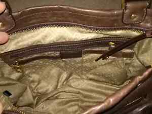 COLE HAAN BROWN LEATHER PURSE!! Kitchener / Waterloo Kitchener Area image 4