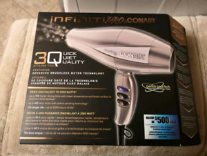 Infini Pro 3Q Hair dryer / styling tool - Brand New in box