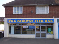 Fish and Chip shop with 2 bedroom flat