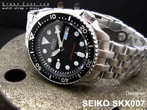 Seiko SKX007 ISO Certified Dive Watch For Sale