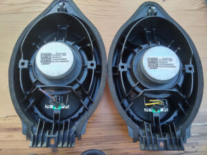 Bose 6 x 9 and tweeters Speaker Set