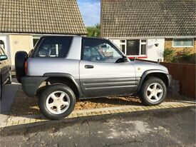 Toyotal Rav 4, Short Wheel Base, Silver M Reg
