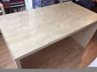 Ikea mikael desk with glass top
