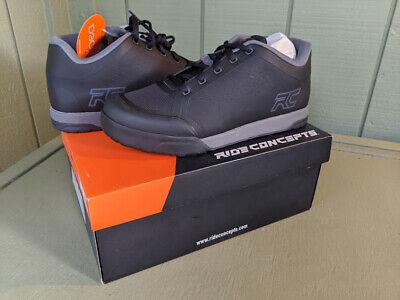 Ride Concepts Men's Powerline All-Terrain Mtn Bike Shoe US12 Black/Charcoal All Terrain Mens Bike