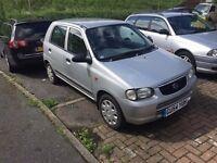 Suzuki Alto 1.1 New Mot & Clutch £30 a year tax
