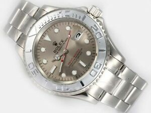 Rolex Top line Replica SS Granite Yachtmaster Watch