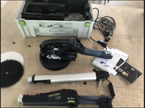 Festool Planex with Dust Extractor