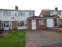 Royal Leamington Spa, 4 bedrooms semi-detached house to rent, resident area, close JLR and Warwick